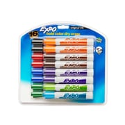 Expo® Dry Erase Marker, Chisel Tip, Assorted Colors, 16/pk (83083)