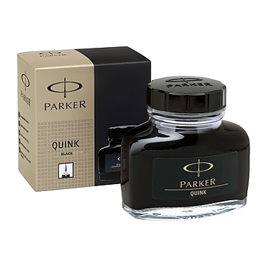 Parker® Quink® Permanent Ink, 2-oz. Bottle, Black (30011)