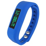 """Supersonic PowerX Fitness/Smart Band, Blue, 0.91"""" (SC-62SW-BL)"""