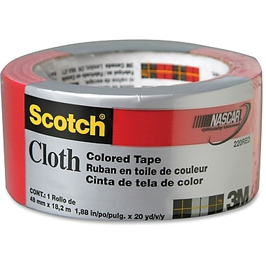 Scotch Colours/Patterns Duct Tape, Red