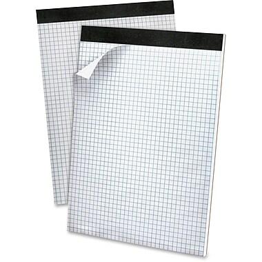 TOPS Gold Fibre Extra-Thick Chipbrd Quad-grid Pad, 50-Sheet/Pad