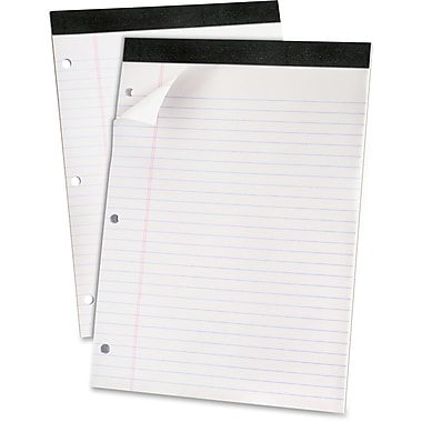 TOPS Gold Fibre Micro-Perforated Notepad, 70 Sheets/Pad