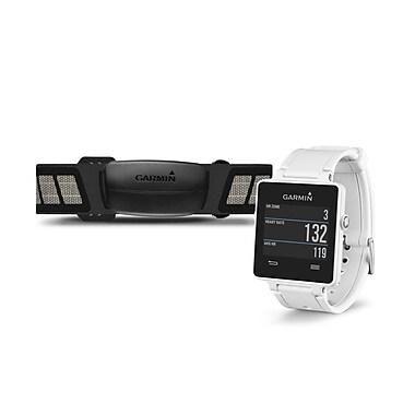 Garmin vivoactive™ Sporty GPS SmartWatch Bundle, White