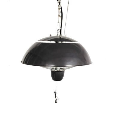Paramount Round Hanging Infrared Heater, Mocha