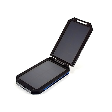 I/O Magic Solar and USB Charger Battery, 6000mAh