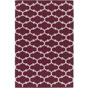Artistic Weavers Vogue Lola Purple/Ivory Area Rug; 2' x 3'
