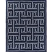 Artistic Weavers Holden Kennedy Navy/Gray Area Rug; 7'6 inch x 9'6 inch  by
