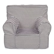 Trend Lab Ombre Gray Foam Kids Accent Chair