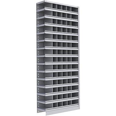 Metalware RK386 Boltless Shelving Unit, 15-Shelves, 36in. x 24in. x ...