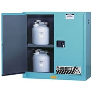"Justrite® ChemCor® Lined Acid/Corrosive Storage Cabinets, 1 Door, Manual, Slimline, 23"" x 18"" x 65"""
