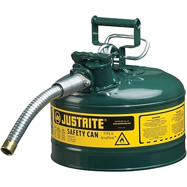 Justrite® Type II AccuFlow™ Safety Cans, 1
