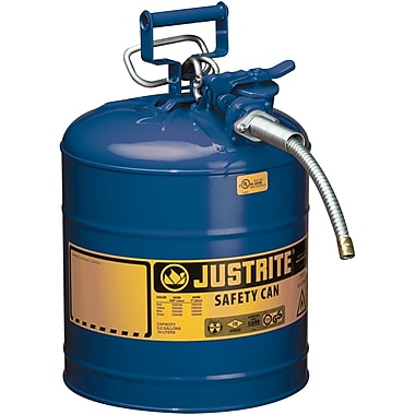 Justrite® Type II AccuFlow™ Safety Cans,