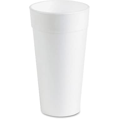 Genuine Joe Styrofoam Cup, 20 oz., 500/Pack