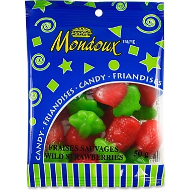 Mondoux Wild Strawberries Candy