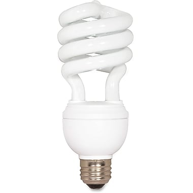 Satco CFL Spiral 3-Way T4 Bulb