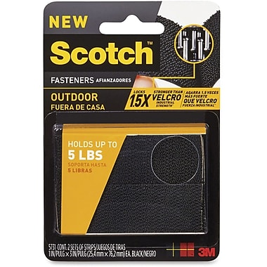 3M Scotch Low Profile Dual Lock Fastener, 2/Pack