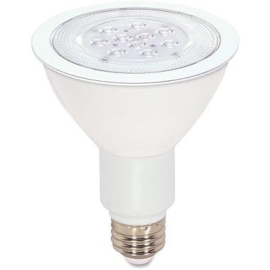 Satco – Ampoule à DEL PAR30 à faisceau large à intensité réglable de 11 W