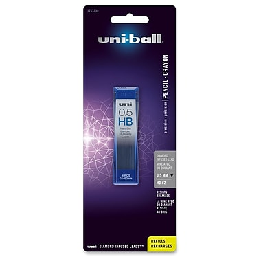 Sanford Uni-Ball Diamond Infused Lead, 0.5mm, 40/Tube