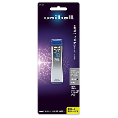 Sanford Uni-Ball Diamond Infused Lead, 0.7mm, 40/Tube