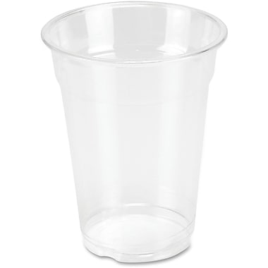 Genuine Joe Clear Plastic Cups, 10 oz., 25/Pack