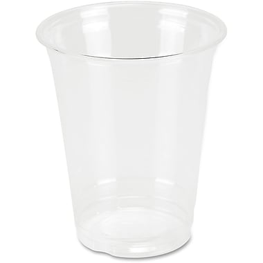 Genuine Joe Clear Plastic Cups, 12 oz., 25/Pack