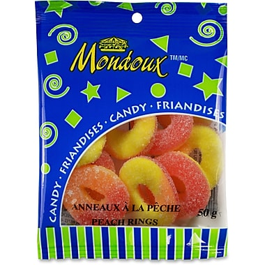 Mondoux Peach Rings Candy