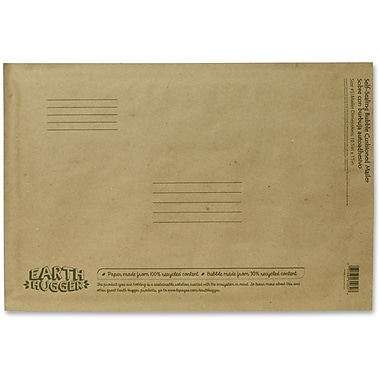 Conros Kraft Bubble Mailers, 10.5