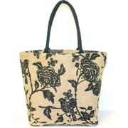 Leaf & Fiber Shopper Hand Bag, Bird Printed (LNFBG1026)