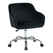 Ave Six Bristol Polyester & Metal Task Chair, Black