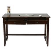 OSP Designs Devonshire Wood Desk with Dual Storage Drawers