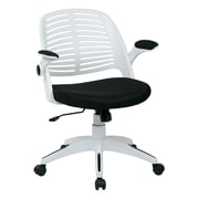 Ave Six Tyler Metal & Plastic Office Chair, Black