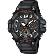 Casio Heavy Duty Chronograph Analog Watch, Black (MCW100H-1AV)
