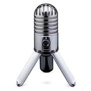 Samson® Meteor Mic USB Studio Condenser Microphone, Chrome