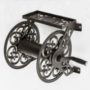 Liberty Garden™ Decorative Wall Mounted Hose Reel, Bronze (708)