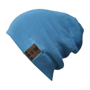 BE Headwear TN0013 24/7 Tall Fit Bluetooth Beanies with BELink System, Ocean Blue