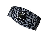 BE Headwear PB0010 Party Band Bluetooth Headband with BELink System, Black/Reflective Silver