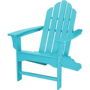 Hanover Outdoor Furniture All-Weather Contoured Adirondack Chair, Aruba (HVLNA10AR)