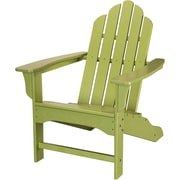 Hanover Outdoor Contoured Adirondack Chair, All Weather, Lime (HVLNA10LI)