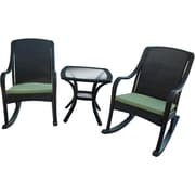 Hanover Outdoor Furniture 5 Piece Orleans Rocking Patio Set, Made with All-Weather Materials (ORLEANS5PCRKR)