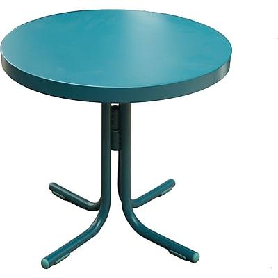 Hanover Outdoor Retro Steel Patio Table (RETROTABLE)