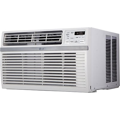 LG 8,000 BTU 115V Window-Mounted Air Conditioner with Remote Control (LW8015ER) 1635594