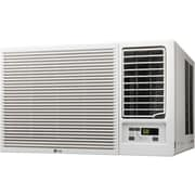 LG 7,500BTU Slide In-Out Chassis Air Conditioner with 3,850BTU Supplemental Heat Function, 115V (LW8015HR)