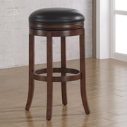 American Woodcrafters Stella 26'' Swivel Bar Stool with Cushion