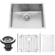 Vigo 23'' x 20'' 16 Gauge Undermount Kitchen Sink; Yes