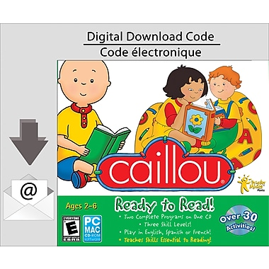 PC Caillou Ready To Read, [Download]