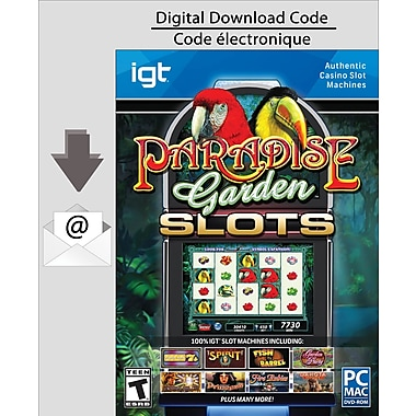 PC IGT Slots Paradise Garden