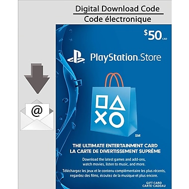 PlayStationNetwork, $50 Electronic Code, [Download]
