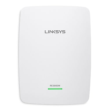 Linksys® Linksys N300 Wi-Fi Range Extender, RE3000W