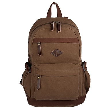 Bugatti BKP102 Canvas Backpack, Khaki