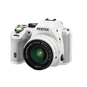 Pentax KS2 Digital SLR Camera with 18  50 mm Lens, White